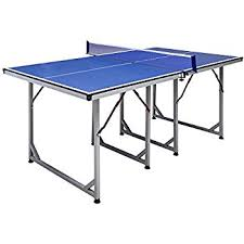 compare ping pong tables amazon com hathaway reflex mid sized 6 table tennis table