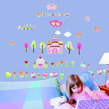 popular glowing decals buy cheap glowing decals lots from china sweet dreams princess castle luminous fluorescent plastic wall stickers for kids girl nursery room decals