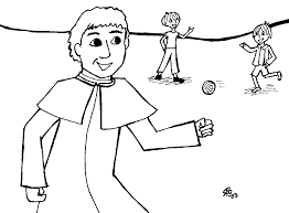 coloring saints free pictures of saints for kids to color
