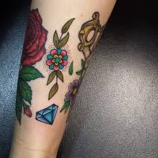 tattoo old school diamond 75 best diamond tattoo designs meanings treasure for you 2018