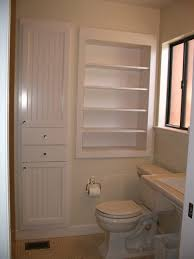 bathroom rustic bathroom vanities recessed shelves in bathroom