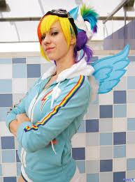 Rainbow Dash Halloween Costume Pony Cosplay Costume 4 Mlp Costumes Pony