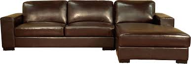 Leather Sofa Bed Australia Ashmore Leather Corner Chaise Sofa Bed Brown With Australia 14209