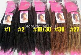 colors of marley hair syntetic hair extension 36inches afro twist braids 100 kanekalon