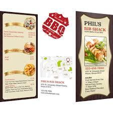 menu publisher template menu templates sles menu maker publisher plus