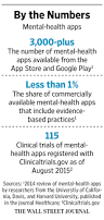 mental health apps make inroads with consumers and therapists wsj