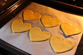 s day cookies s day cookies with heart shape baked hearts in oven