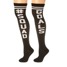 squad goals knee high socks s us