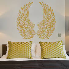 decorative angel wings wall sticker world of wall stickers