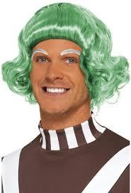 Oompa Loompa Costume Candy Man Wig Oompa Loompa Costume Accessory Aq142790