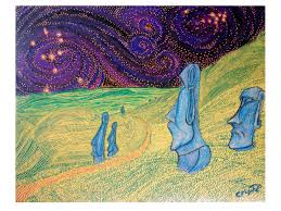 vincent van gogh images easter island hd wallpaper and background