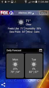 weather radar table rock lake fox 2 st louis weather apps on google play