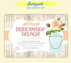 bridesmaid brunch invitations formidable bridal brunch shower invitations 69 bridal shower