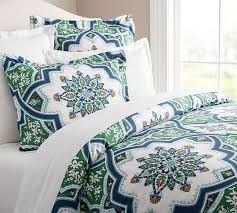 Duvet Cover Teal Ashton Organic Duvet Cover U0026 Sham Pottery Barn