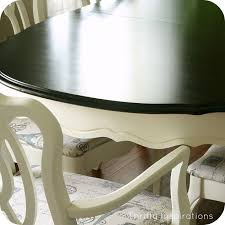 French Provincial Kitchen Table by French Provincial Table Set Makeover Hometalk