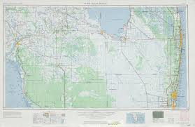 Map Of Palm Beach Florida by West Palm Beach Topographic Map Sheet United States 1963 Full Size