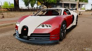 modified bugatti veyron 16 4 body kit final stock for gta 4