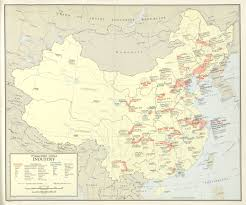 Xi An China Map by Mapping China The Soviet Influence In The 1950s Andrew Batson U0027s