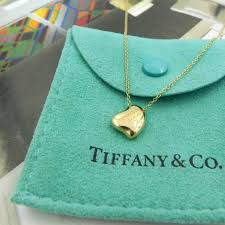 green heart pendant necklace images Tiffany elsa peretti full heart yellow gold necklace the jewelry box jpg