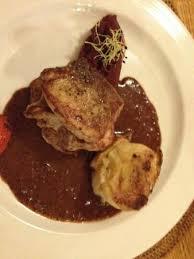 cuisine sur plancha cochon noir d espagne sur plancha picture of la vieille braise