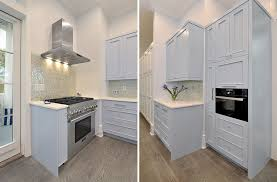 robert paige cabinetry custom color blue kitchen cabinets on