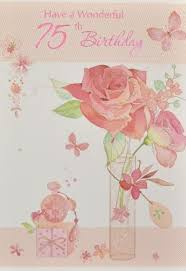 age 70 75 birthday cards greeting cards picture this cards