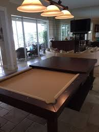 Convertible Pool Tables Dining Room Pool Tables By Generation - Pool table dining room table top