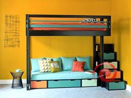 lit en hauteur avec canapé lit mezzanine avec canape lit mezzanine 2 places avec banquette lit