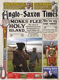 the anglo saxon times raintree perspectives newspapers from