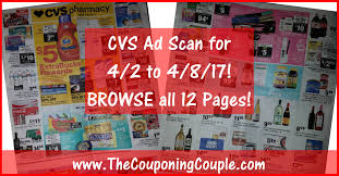 cvs black friday 2017 cvs ad scan for 4 2 to 4 8 17 browse all 12 pages