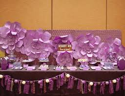 simple bridal shower purple wedding bridal wedding shower purple dessert