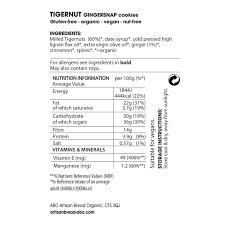 Warehouse Job Resume Skills Organic Gluten Free Gingersnap Cookies Organic Tigernut Ginger