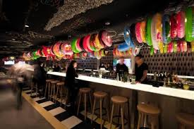 Urban Kitchen And Bar - the restaurant and bar have quirky decor and furnishings like