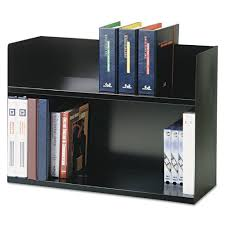 Desk Organizer Shelf Steelmaster 2 Tier Desktop Book Rack Reviews Wayfair
