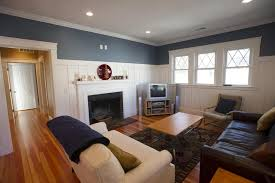 Living Room Wainscoting Photos Renovated Bungalow Near Needham Junction Photo 2 Of 8