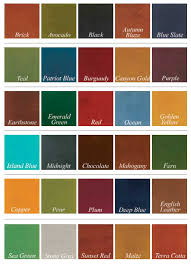 Stain Color Chart Concrete Coating Color Chart Acid Stained And Color Dyed Garage Floors All Garage Floors