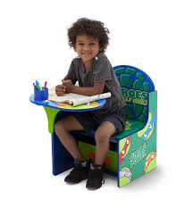 Play Table With Storage And Chairs Amazon Com Delta Children Chair Desk With Storage Nickelodeon