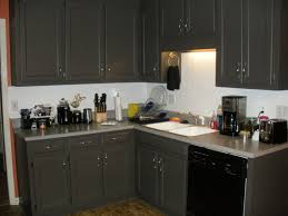 black appliances with grey cabinets outofhome
