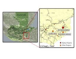 Radius Maps Radius Gold Inc Holly Banderas Project Guatemala Banderas