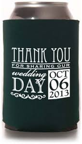wedding koozie quotes all you need is and racing personalized wedding by cssdesign