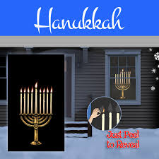 hanukkah window decorations wowindow posters backlit christmas and everyday