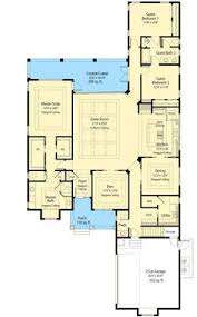 Net Zero Energy Home Plans Plan 16359md Central Courtyard Courtyard House Plans Courtyard