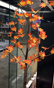 6 foot led maple tree 72 lights for use indoors and outdoors