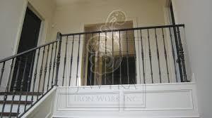 interior railings birmingham al allen iron works unique free form