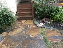 download flag stone walkway garden design