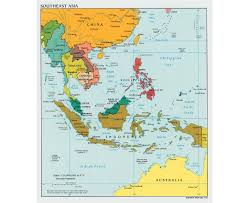 Map Of Us Without Names Maps Of Southeast Asia Southeast Asia Maps Collection Of