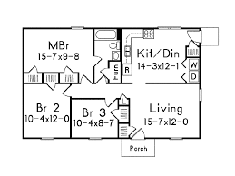 small ranch home plans oakland small home plan 001d 0089 house plans and more