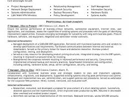 Resume Samples For Technical Support by Awe Inspiring It Manager Resume Sample 16 Technical Support