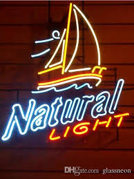 natural light beer gifts 2018 new natural light glass neon sign light beer bar pub arts