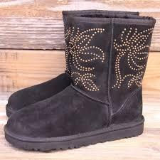 ugg boots sale in adelaide 44 ugg shoes ugg adelaide black studded sheepskin boots us